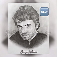 GEORGE MICHAEL DRAWING