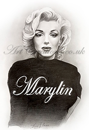 MARYLIN DRAWING